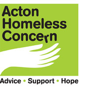 acton homeless concern banner